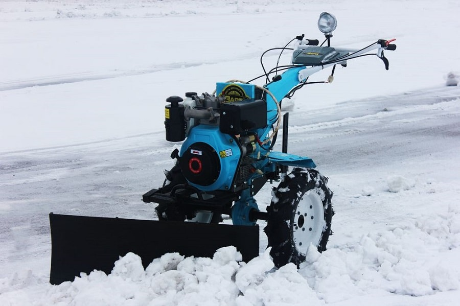 подготовка мотоблока к зиме