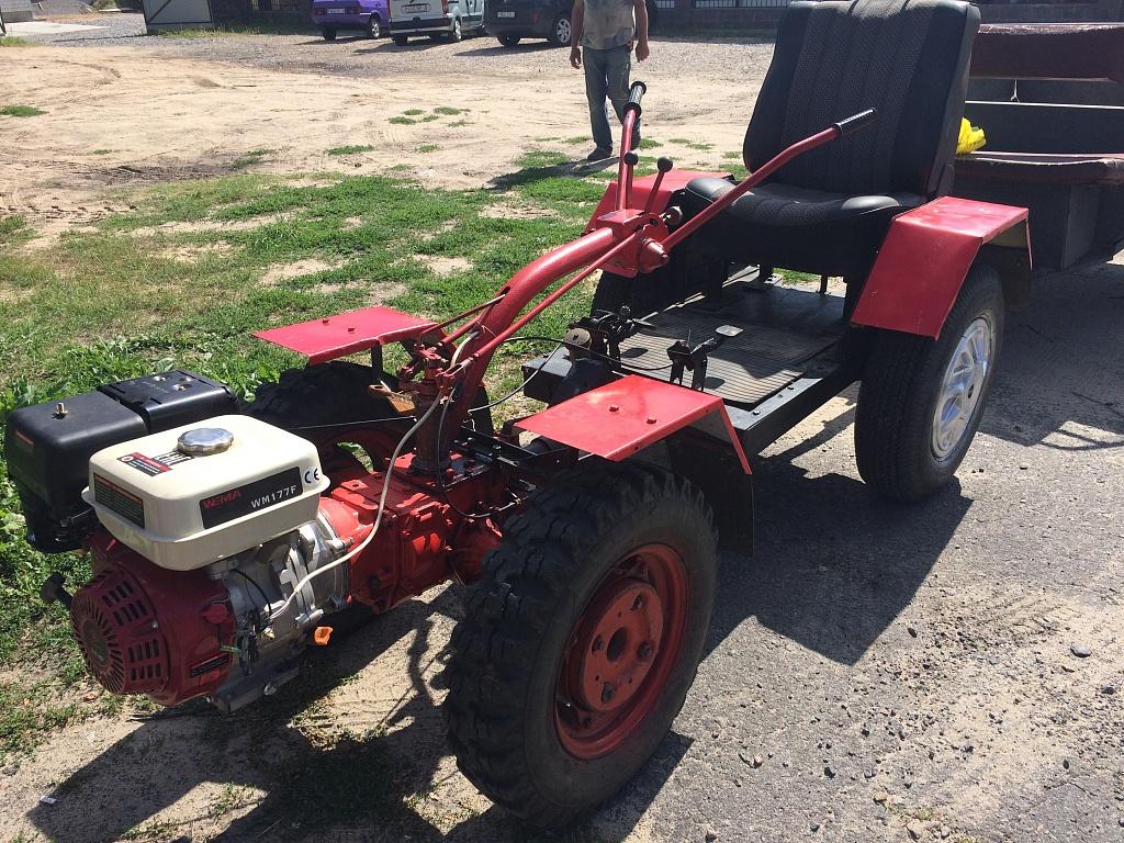 самодельный трактор (5).JPG